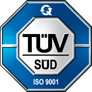 ISO 9001 farbe single